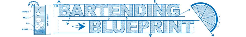 Bartending Blueprint Logo